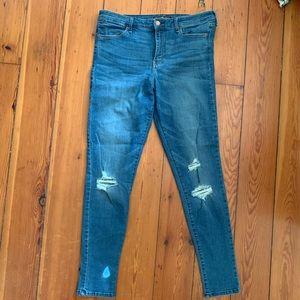 EUC Abercrombie High Rise Super Skinny Jeans